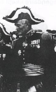 Général Richert officiers