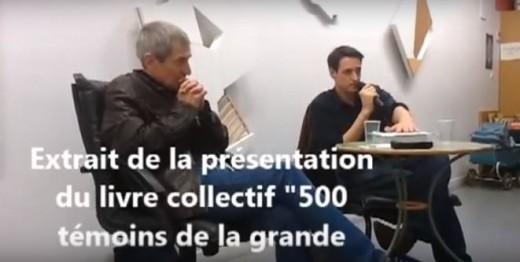 Remy Cazals 500 témoins