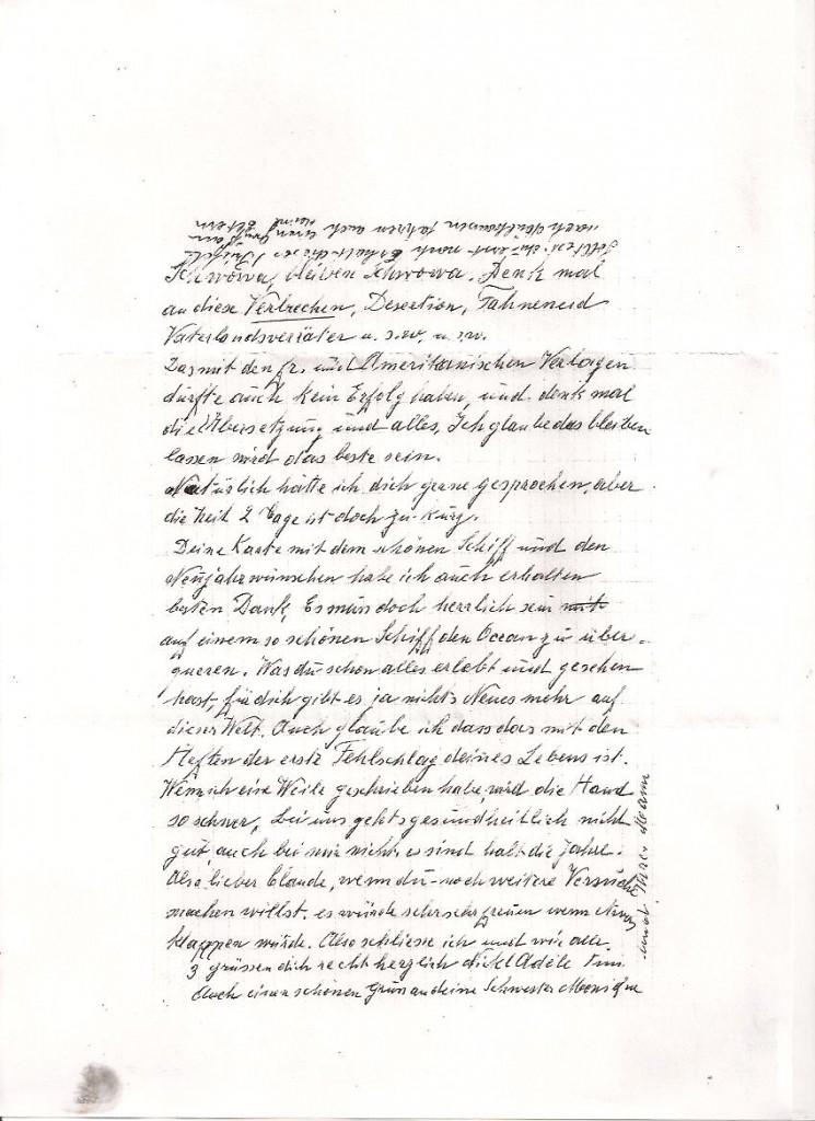 lettre de DR a Faffa 1