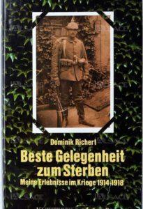 BESTE GELEGENHEIT ZUM STERBEN -jetzt zum Verkauf auf der LULU-Plattform sowie dem E-Book